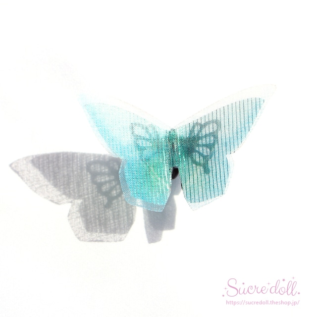 [碧石] 胡蝶の夢 ヘアクリップ