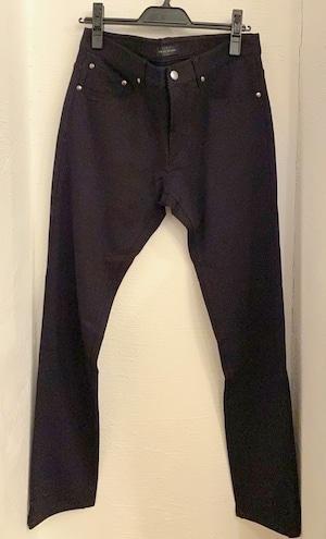 5 Pocket Cut & Sewn Pants Black