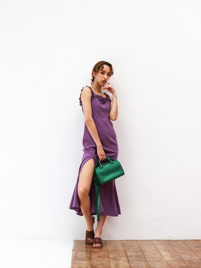 slit mermaid one-piece(purple)