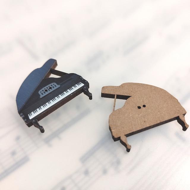 フランス製 木製ボタン アトリエ ボヌール ドゥ ジュール 【PIANO】