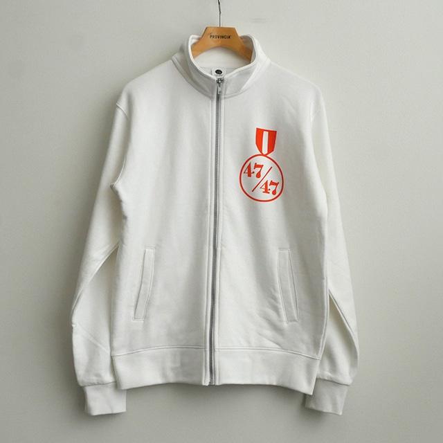 【在庫限り】スタンダードジップジャケット 47/47 ホワイト