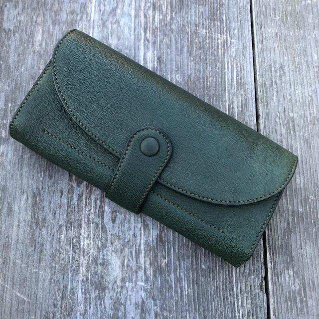 【広島ジビエレザー】柔らかい鹿革★ギャルソンタイプ長財布!手に取ると幸せな気持ちに