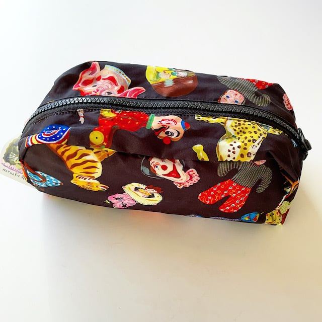Nathalie Lete Oblong pouch Circus ナタリーレテ ポーチ サーカス