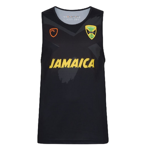 Jamaica RL 21/22 Training Singlet Black【海外取寄せ商品】