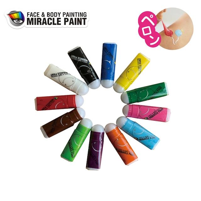 ミラクルペイント Sサイズ(2ml) 各色 × 10個