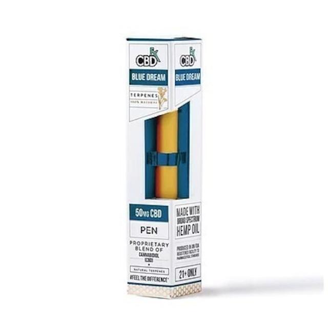 【定期お得便】CBDfx ブルードリーム - CBD Terpenes Vape Pen 50mg
