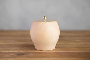 【樺】真鍮蓋の小物入れ|type-B
