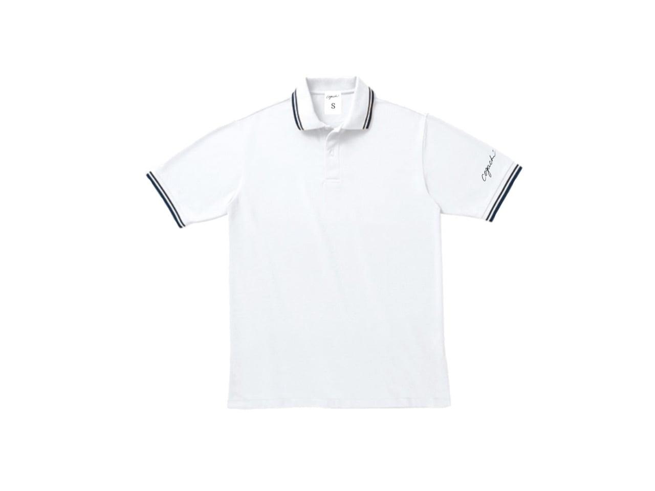 coguchi LINE polo T-shirts (WH)