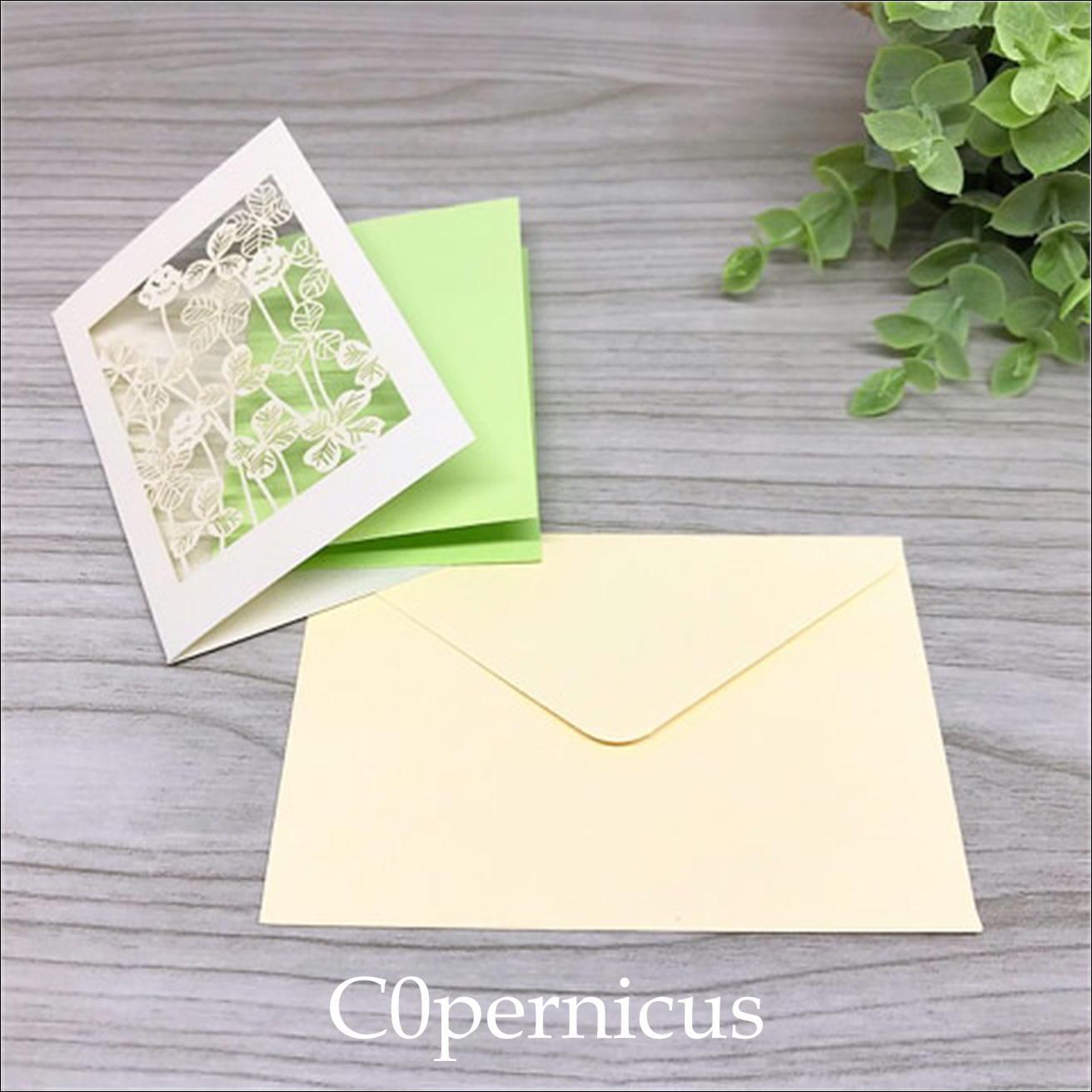 Greenメッセージカード/ミニカード /0326-3<便箋・封筒・レターセット> 浜松雑貨屋 C0pernicus