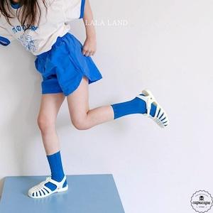 «sold out» LALA LAND simple shot pants シンプルショートパンツ