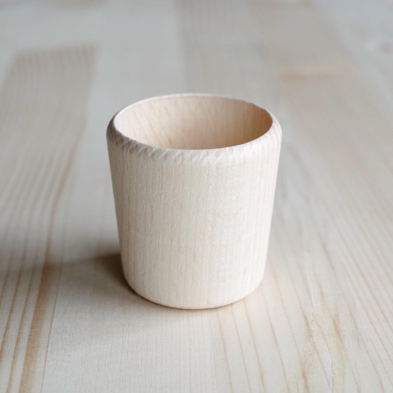 木のコップ  小