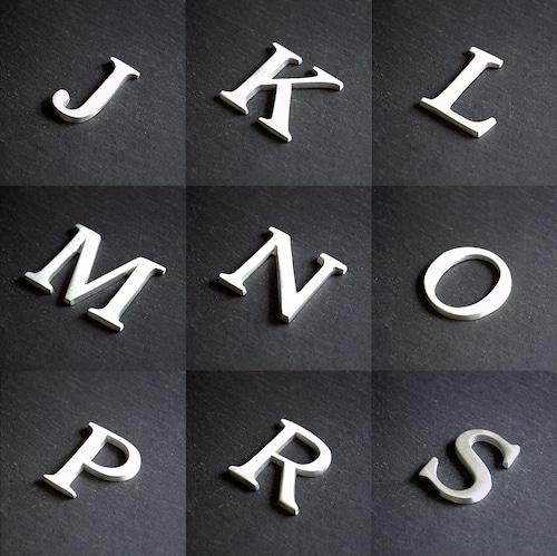 アルミ ナンバー&イニシャル(J-S)
