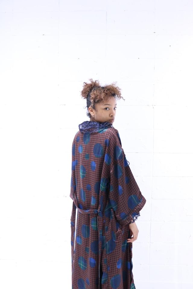 Vintage pattern gown