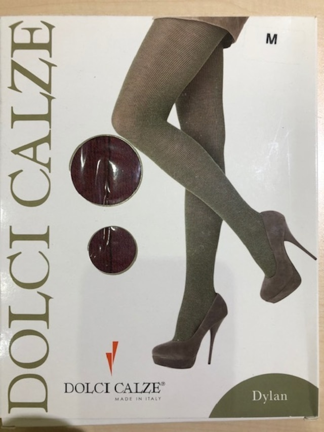 DolciCalze (ドルチカルゼ)イタリア製 05-2559 リブコンビネーションタイツ