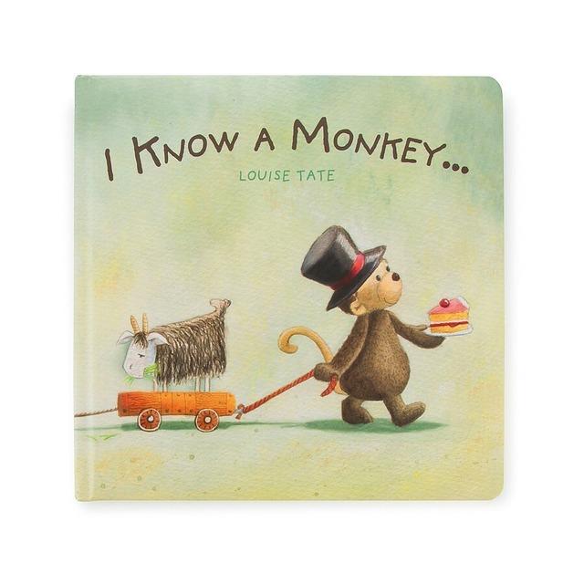 I Know A Monkey Book_BK4IKM
