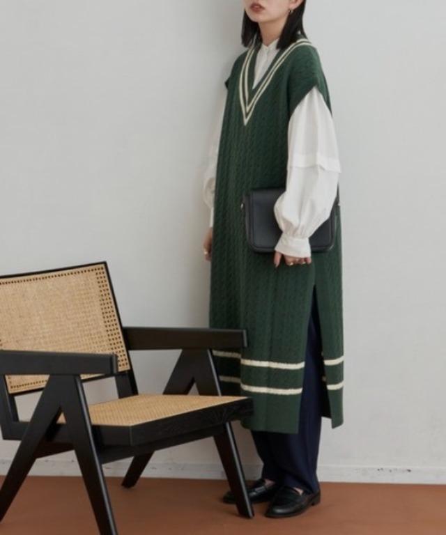 チルデンニットドレス/DGRN