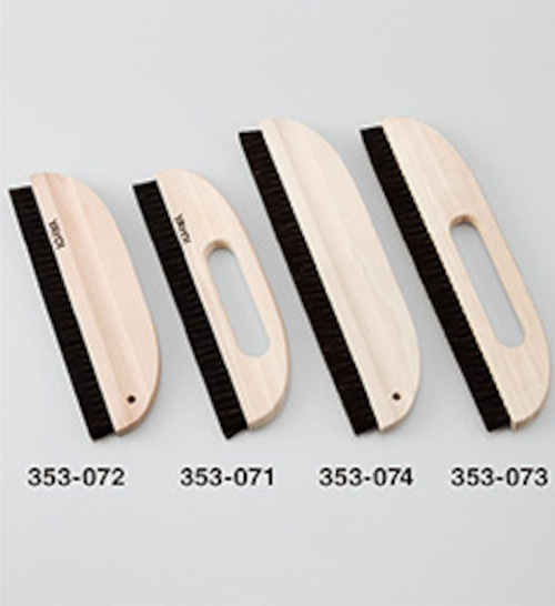 353073植込みブラシ三行穴アキ 11寸