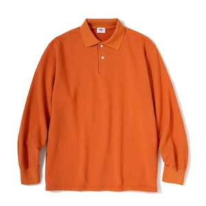 """Just Right """"WFH Polo L/S"""" Salmon"""