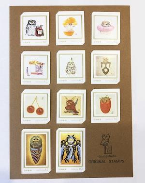 オリジナル切手セット11種