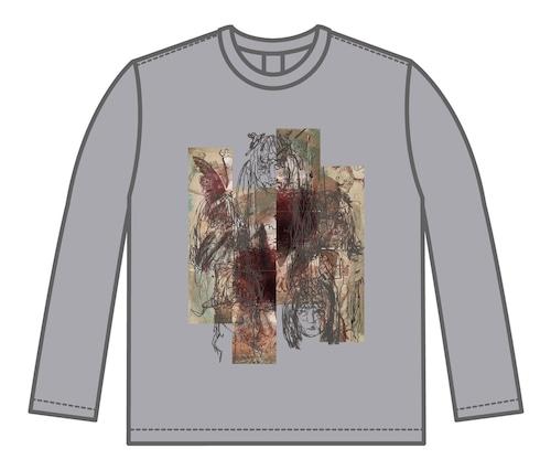 KAQRIYOTERROR DNmix ロングTシャツ
