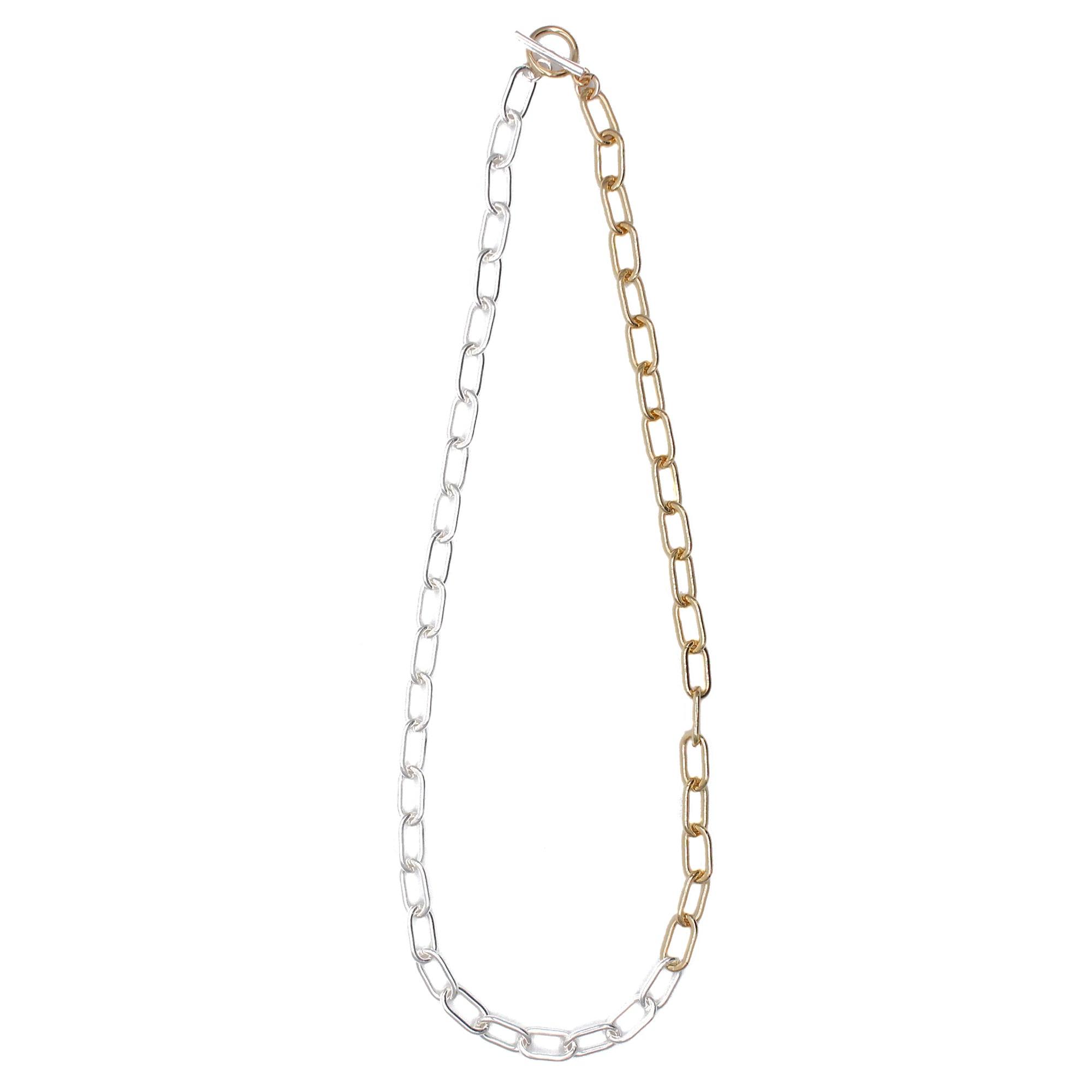 Ellipse Chain Necklace