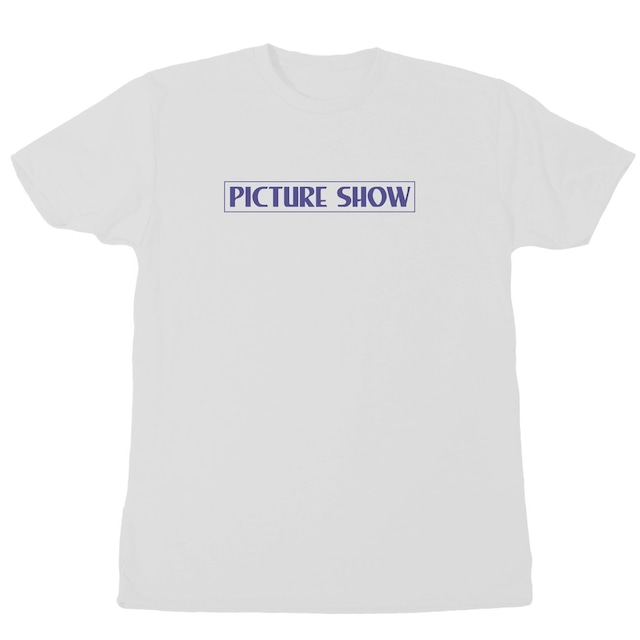 PICTURE SHOW VHS TEE WHITE