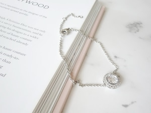 【在庫限り】round stone bracelet