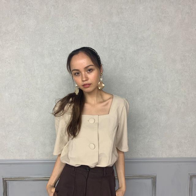 kurumi button blouse