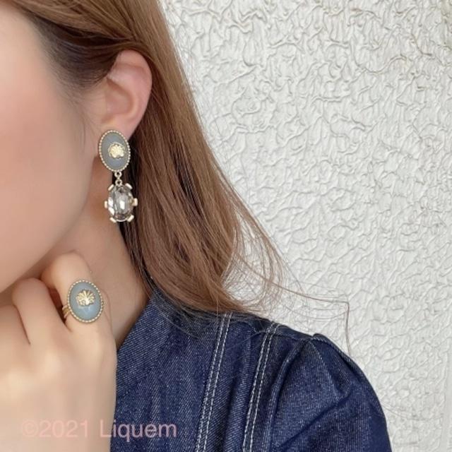 Liquem / シンボルイヤリング(BLGRY)