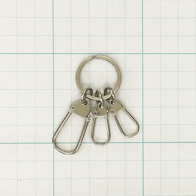 二重平リング(21mm) 馬丁大1ヶ小2ヶ付 Ni