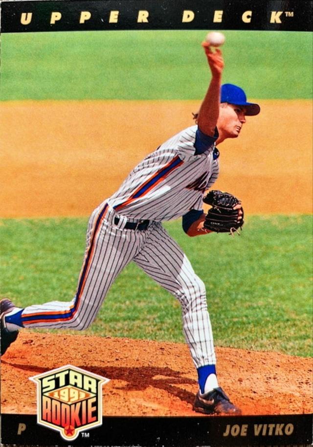 MLBカード 93UPPERDECK Joe Vitko STAR ROOKIE  #010 METS