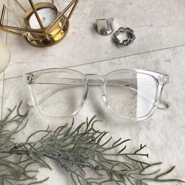 ダブルクリアデザインサングラス