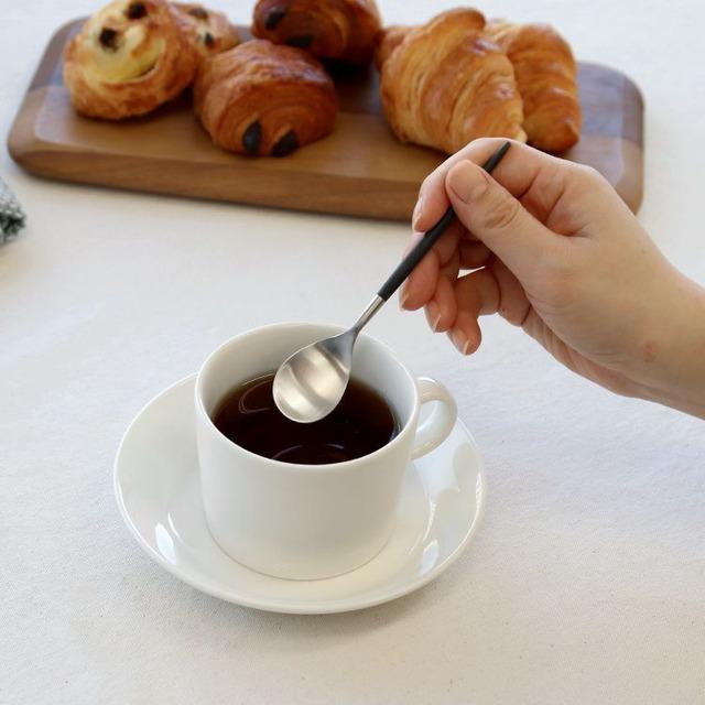 ※12本入 クチポール(Cutipol) ミオ/MIO ブラック コーヒー/ティー スプーン 20%off