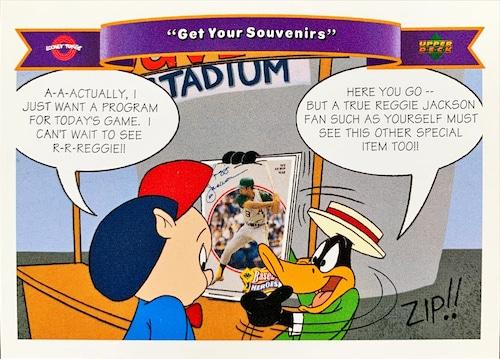 MLBカード 92UPPERDECK Looney Tunes #175