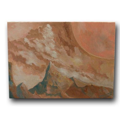 【絵画 油彩】『Illusion to Europa(エウロパへの幻想)』 F4号 購入後すぐに飾れる
