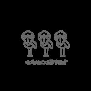 白雲石吸水コースター★ハシビロコウ