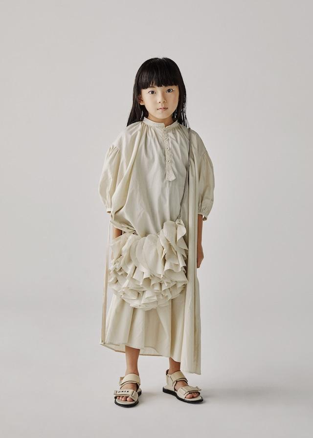 Last one!GRIS Sleeping Dress (Light Beige/Pistachio)(S) GR20SS-DR005