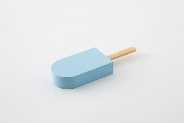 ice pop : 角丸 (ブルー) / 西本良太