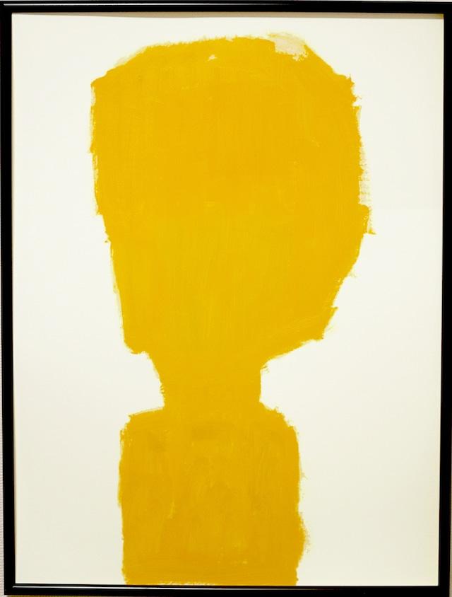 OIL COLOUR   portrait of a human   油彩画