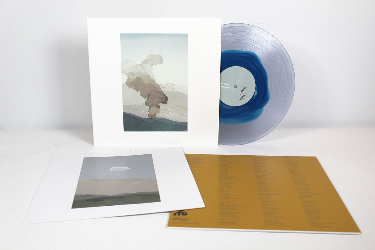 Sun June / Somewhere(300 Ltd Clear Blue LP)