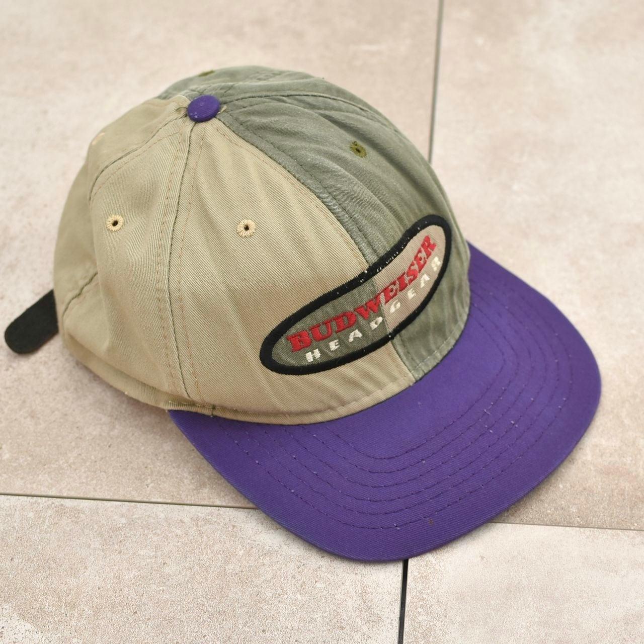 90's American Needle BUDWEISER panel cap