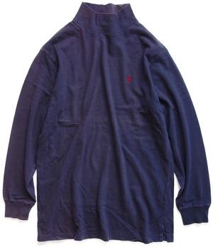 90年代 Polo ラルフローレン モックネック カットソー 【M】 | Ralph Lauren アメリカ ヴィンテージ 古着