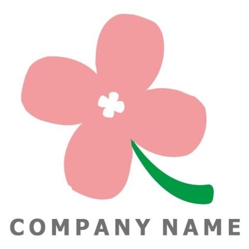 花イメージ ロゴデザイン