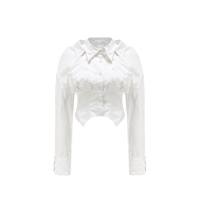 【24 ans】フィッシュボーンシャツ