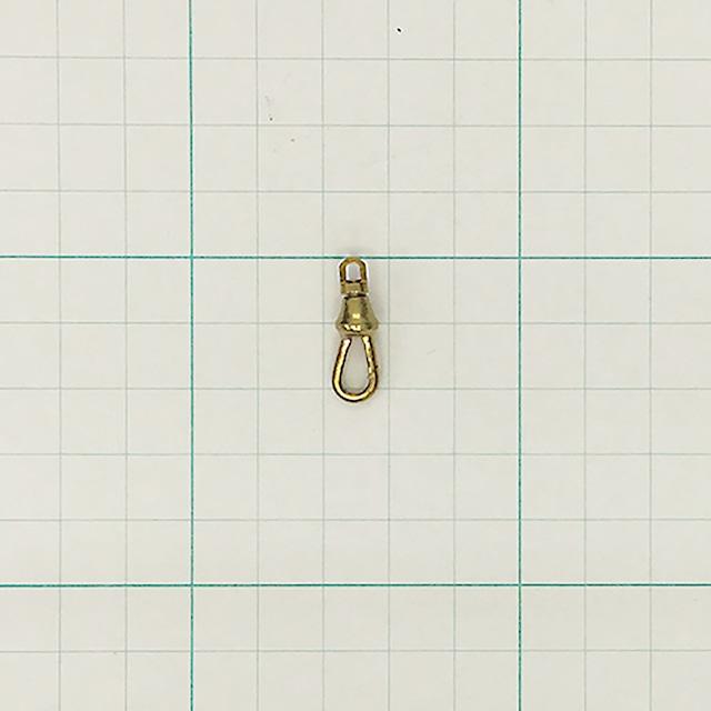 挽物ナスカン(小) 真鍮生地