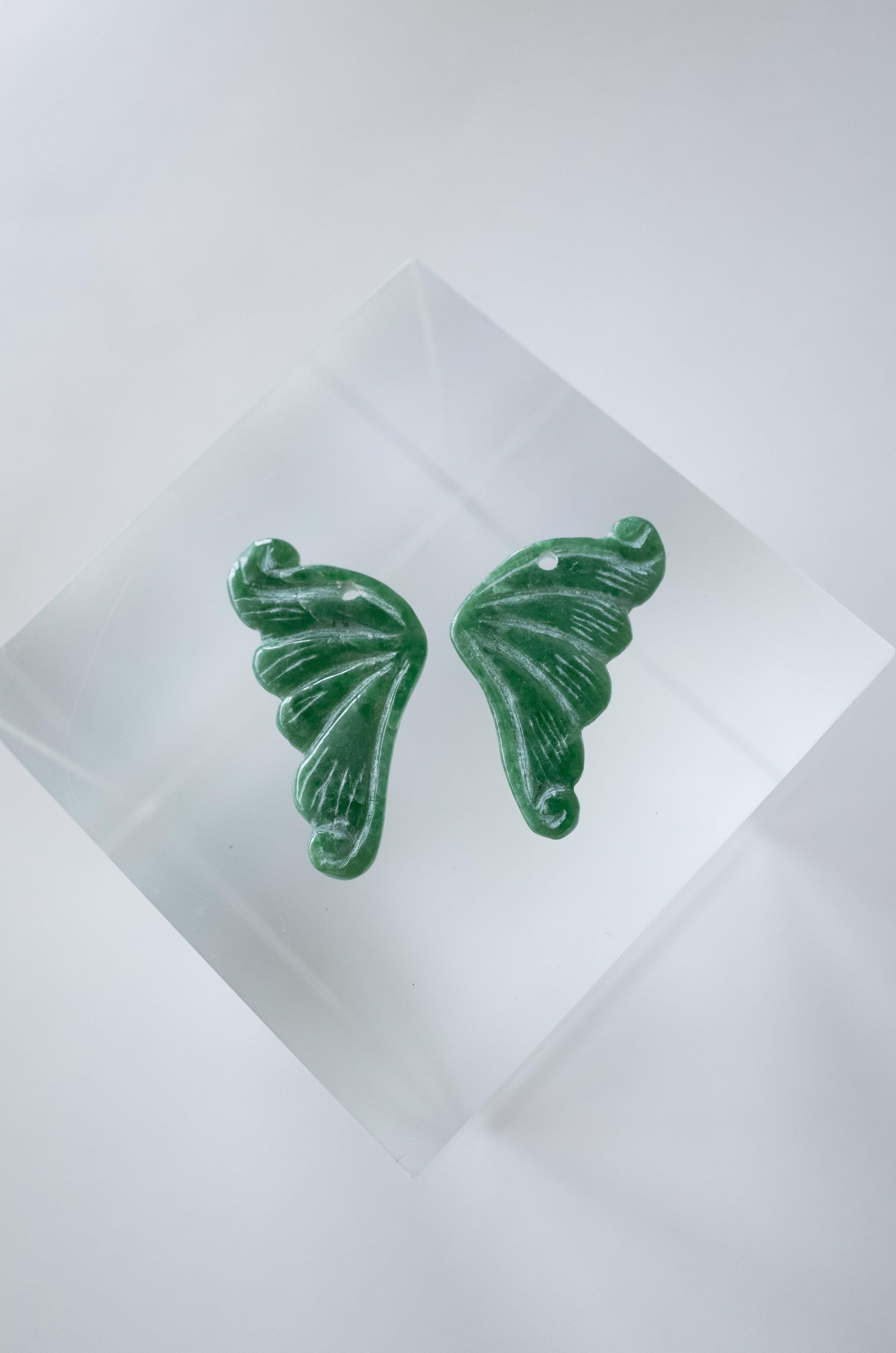 Myanmar Jadeite Butterfly - 002