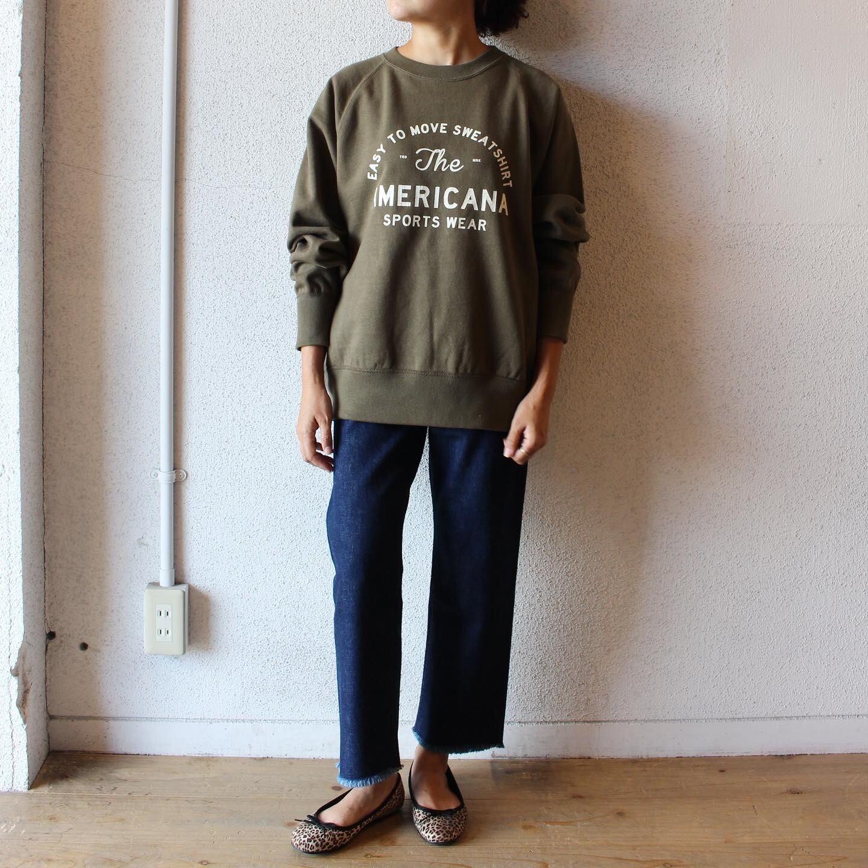 Americana(アメリカーナ) / Raglan Crew Neck Sweat(ラグラン クルーネックスウェット)