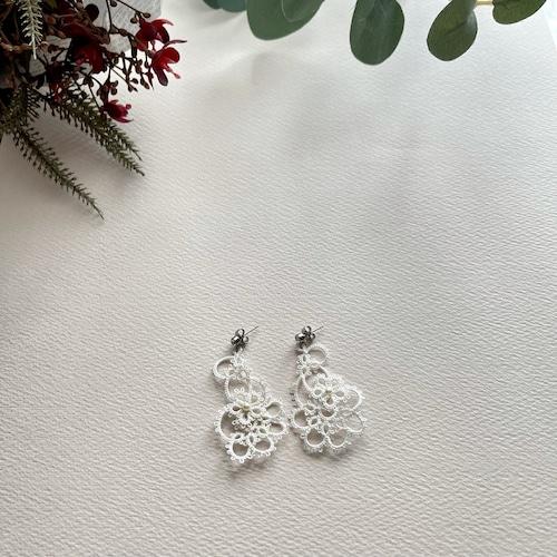 タティングレース white drop