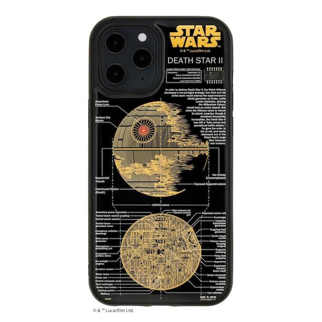 FLASH DEATH STAR 基板アート iPhone 12 Pro Maxケース  黒【東京回路線図A5クリアファイルをプレゼント】