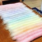 OGY10) 虹色ローラグ オリジナルブレンド羊毛